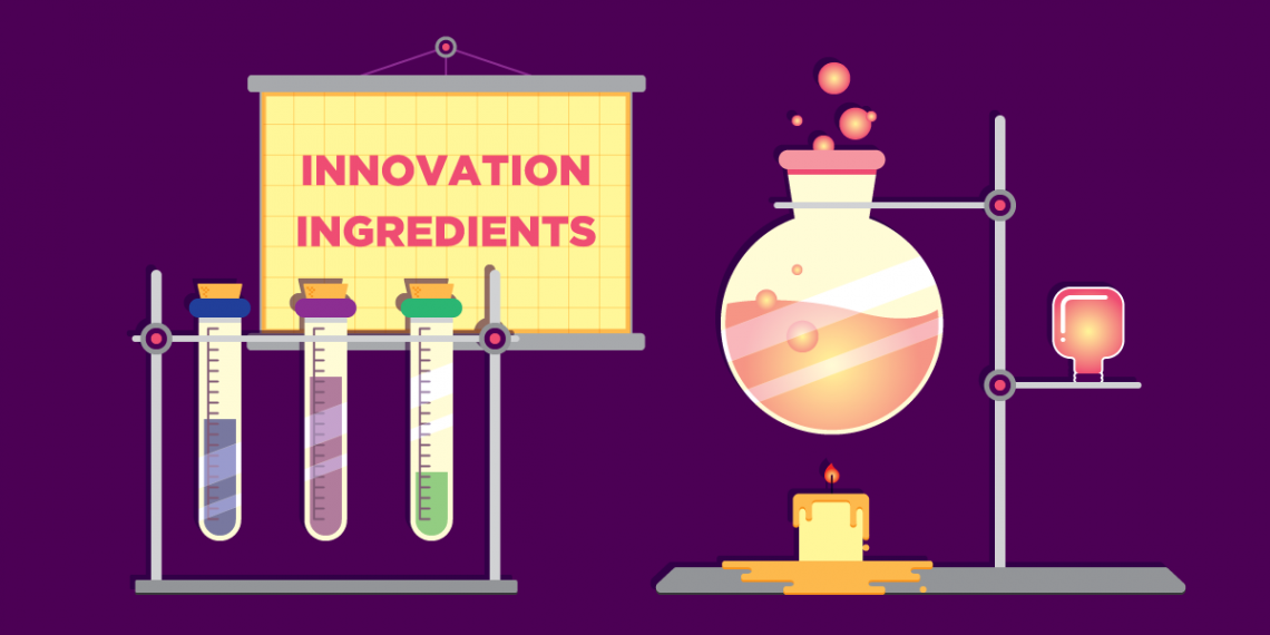 3 key ingredients of the Innovation Formula